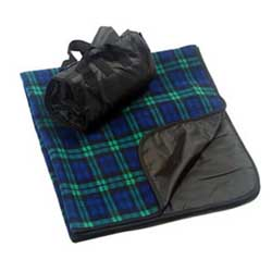 Liberty Plaid Fleece Blanket